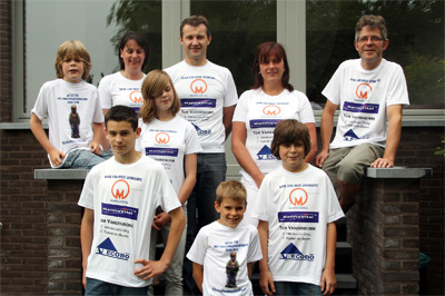 Twee gezinnen organiseren anderhalf jaar lang acties ten voordele van Kinderkankerfonds